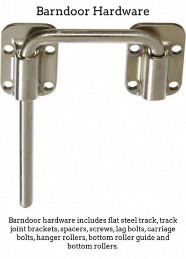 Double Barn Door Hardware Kit Small Track Sliding 20181025