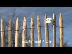 ganivelle treillage cloture chataignier france barriere onzyx piquets producteur treillage ganivelle piscine securité portail barbelés fil de fer