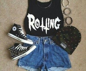 Badass Rebel Outfit | Dream Wardrobe | Pinterest | Rebel Outfit And Outfit