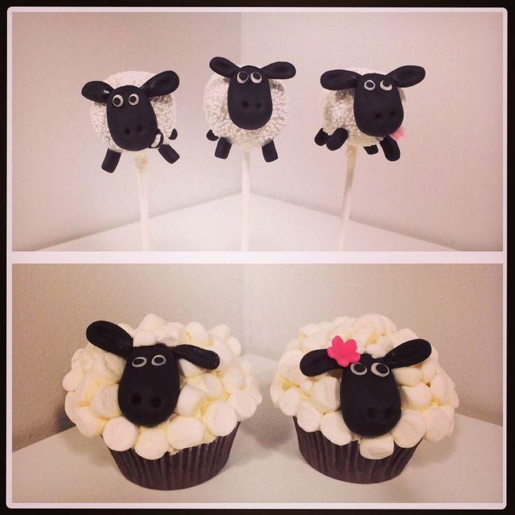 Shauna the sheep cakepops