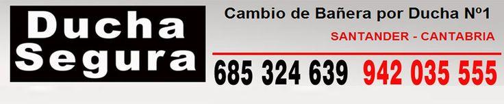 Ducha Segura es la empresa lider en Santander, Cantabria en cambio de bañera por platos de ducha - 942 035 555 https://sites.google.com/site/duchasegurasantander/