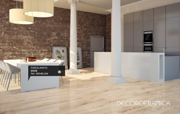 Naturaliza tus #espacios con un #piso #porcelanato #estilo #madera. #Decorceramica te presenta on.fb.me/1f6ccVA