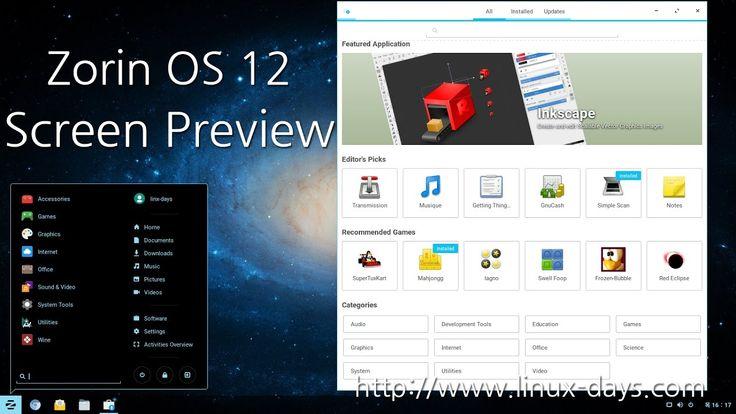 [linux-days.com] Zorin OS 12 Screen Preview(1080p)