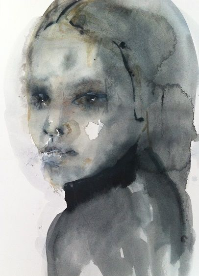 W3, watercolor by Cecilie Nyman
