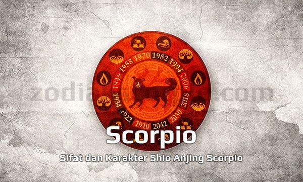 Shio Anjing Scorpio Yang Ekspresif