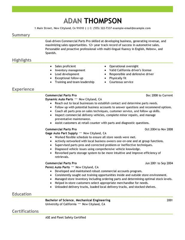 The 25+ best Chronological resume template ideas on Pinterest - examples of chronological resume