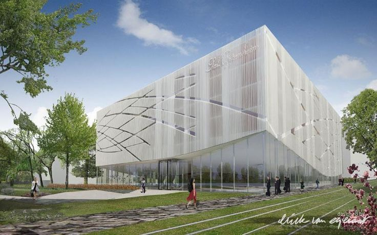 erick van egeraat.    offices_and_bank_headquarters_kirchberg_luxemburg  http://www.erickvanegeraat.com/#/projects/offices_and_bank_headquarters_kirchberg_luxemburg