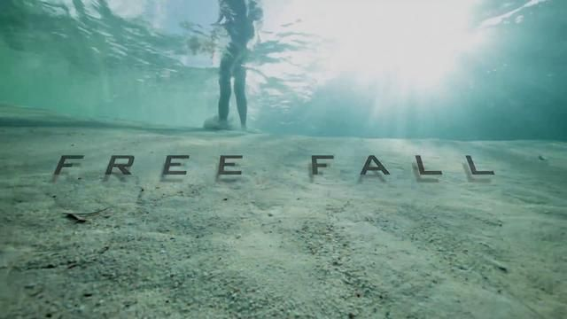 This stunning video of world champion freediver Guillaume Nery base jumping underwater into Dean's Blue Hole will take your breath away.Dean's Blue Hole is the world's largest underwater sinkhole, plunging 663 feet to the ocean floor in a bay west of the Bahamas. Nery, accompanied by freediving cameraman Julie Gautier, dives to the bottom, strikes a pose, and then climbs his way back out.