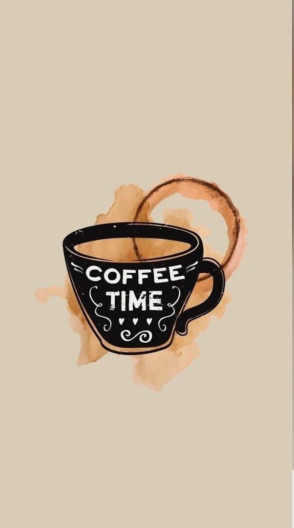 Coffee art love wallpaper