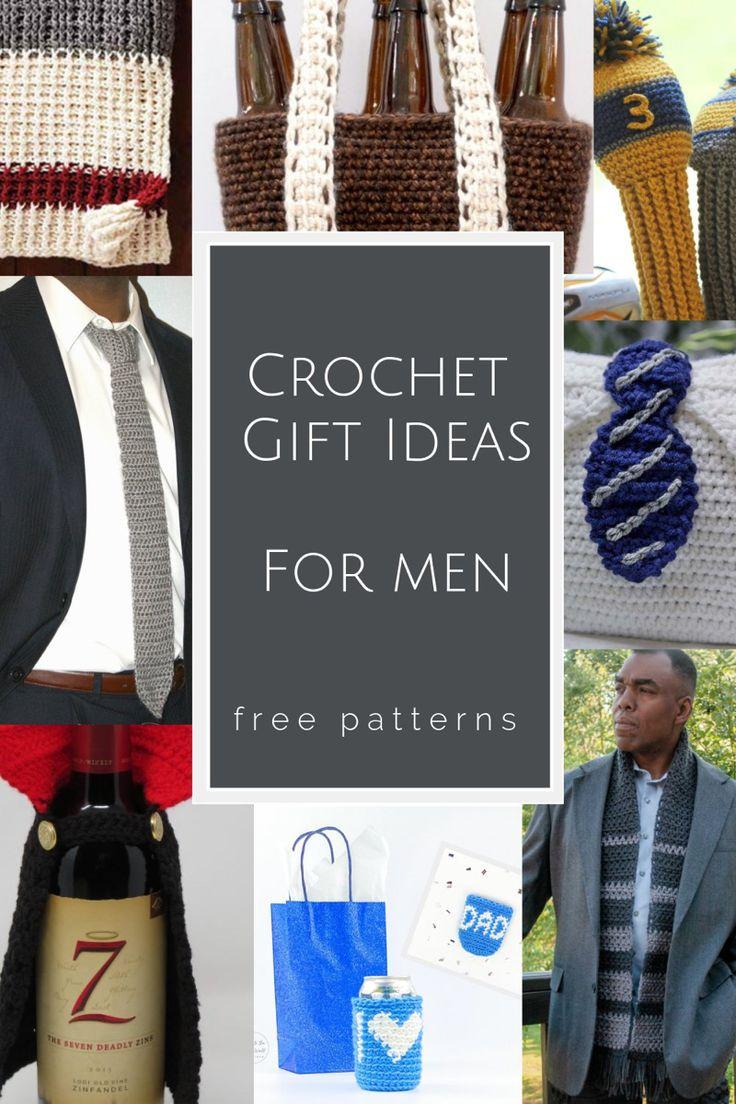 diy gifts for him crochet