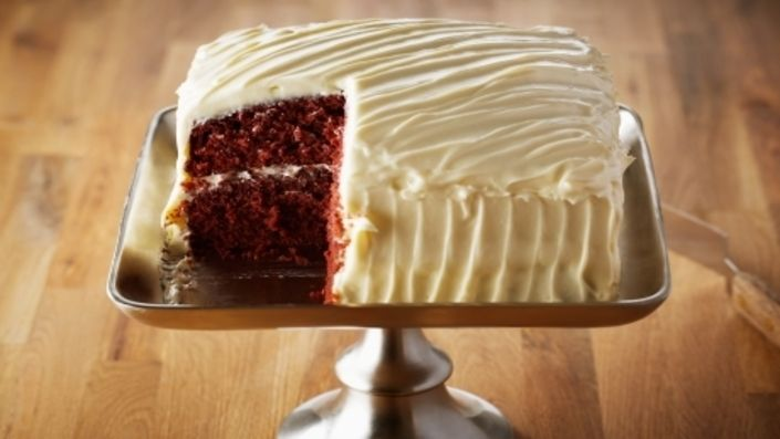 How to make the perfect Red Velvet Cake by Anna Olson on Food Network UK.