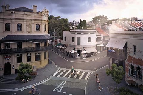 Sydney, Paddington, Five Ways