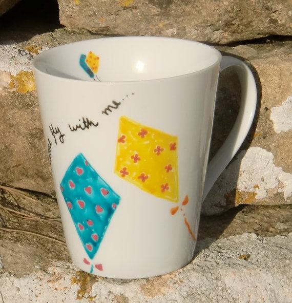 Kite mug: Big Little Gift, Kappa Alpha Theta Big Little, Kappa Alpha Theta Diy, Theta Gifts S S, Sorority Crafts, Kappa Alpha Theta Crafts, Sorority Crafting, Kappa Alpha Theta Little, Theta1870 Thetadiy
