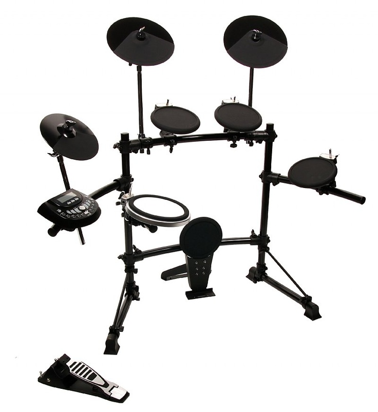 dkx 580 usb 5 piece electronic drum set siglermusic sale deals lmtd time drums. Black Bedroom Furniture Sets. Home Design Ideas