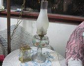 Hurricane Kerosene Light Lamp Vintage, Vintage Oil Lamp, Vintage Lamp, Vintage Home Decor,  20 Inches Tall  :)S