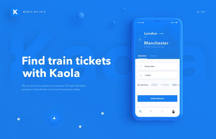 We are proud to present an awesome IOS app that helpspeople in Great Britain to find and book train tickets