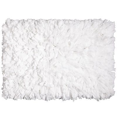 White Fluffy Shag Rug-25 Modern Home Essentials Inspired by Scandinavian Style