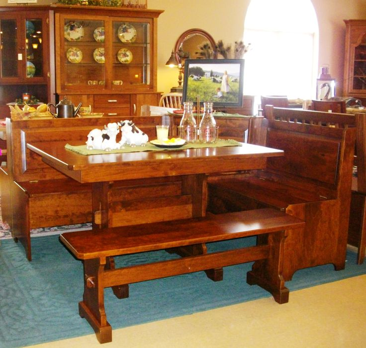 The Amish Buggy Is Filled With Beautiful Kitchen Dining Room Tables Chairs And Benches