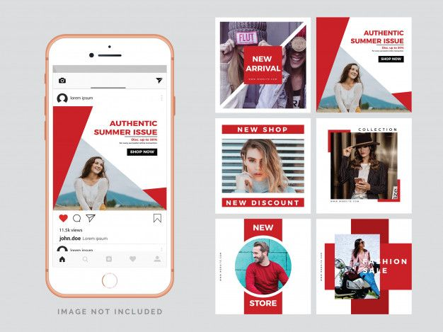 Fashion Social Media Post Template Social Media Post Post Templates Social Network Icons