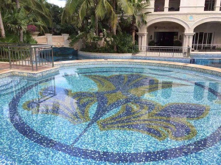 стеклянная мозаика китай
