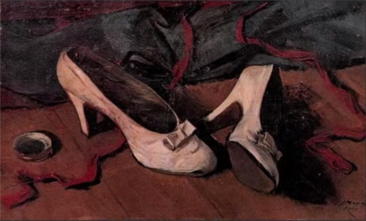 Yiannis Moralis - Still Life with Shoes
