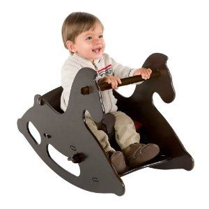 $79.95 (CLICK IMAGE TWICE FOR UPDATED PRICING AND INFO) Junior Wood Rocking Horse with Seat Cushion. See More Kids Rocking Toys at http://www.zbuys.com/level.php?node=4061=kids-rocking-toys
