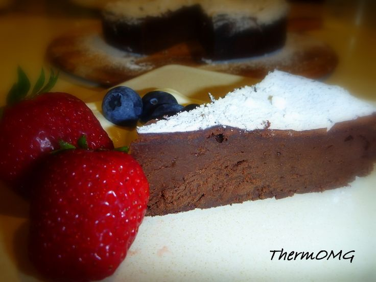 Chocolate Mousse Cake by Gail Kordic — ThermOMG