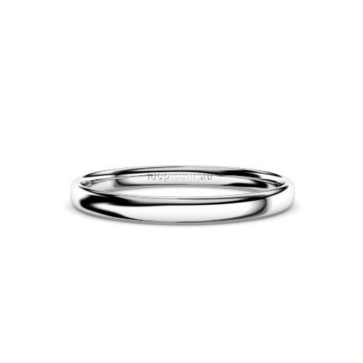 Women's Classic Platinum Wedding Ring – 2mm