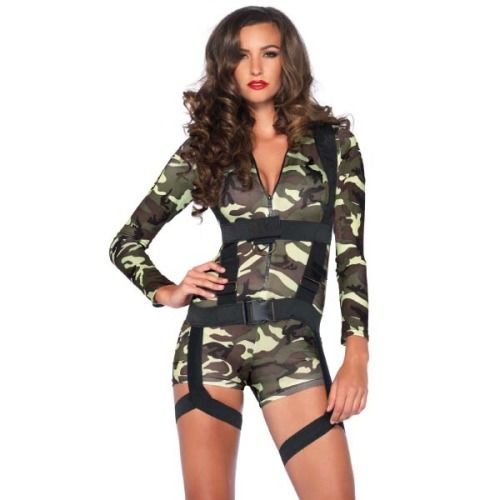 Leg Avenue Goin Commando Costume Dress Up Women Sexy