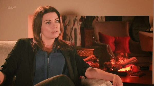 carla connor | Carla Connor's flamin' fireplace - what does it mean?