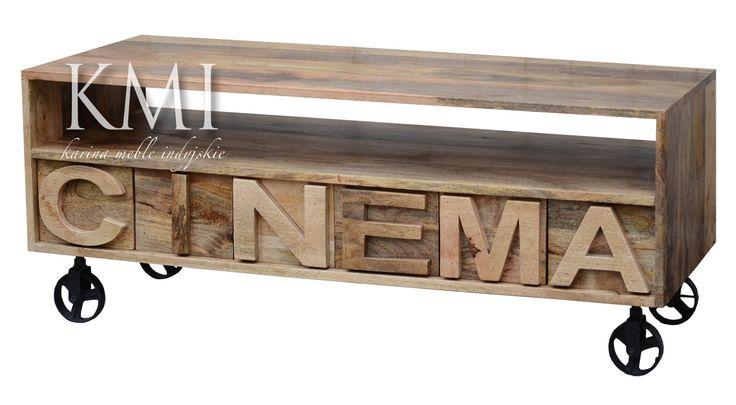 "szafka rtv ""Cinema"" natural"