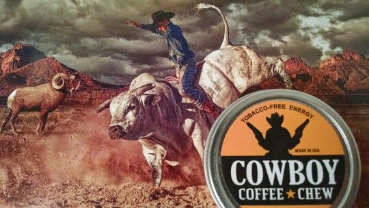 BULL RIDING PBR and Cowboy Coffee Chew