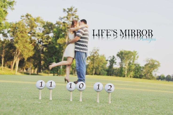 Golf ball date