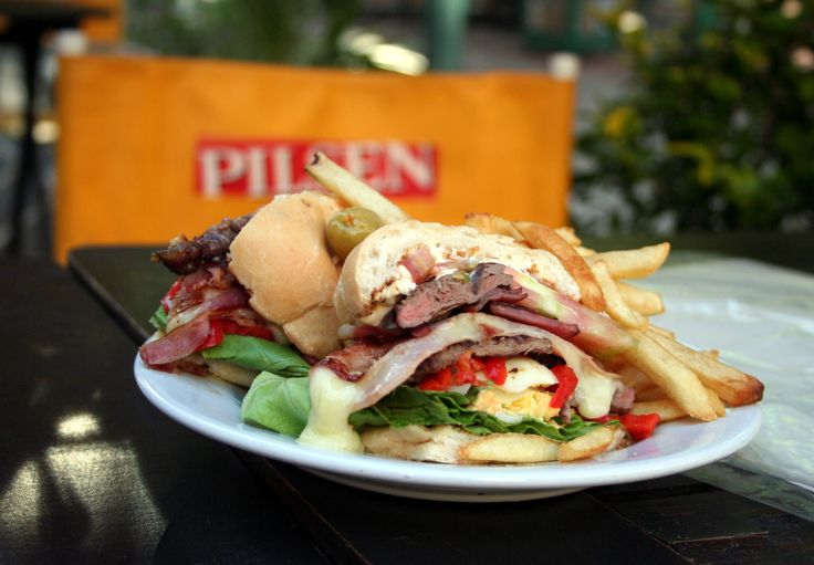 6. Chivito al pan - Uruguay. 17 Delish Street Foods to Try Before You Die – THE FLASH PACK #FeedYourTravelBug