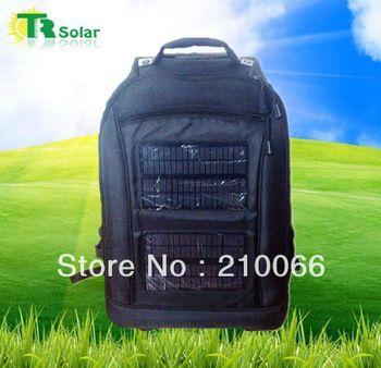 6 W Solar 8800 MAH Solar mochila Solar panel esporte saco de telefone, Portátil, Carregador, Acampamento ao ar livre, Caminhadas