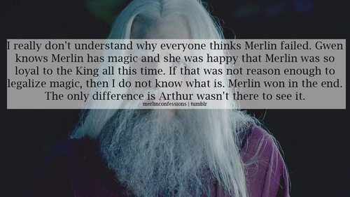 Merlin Confessions-wait, do I need to watch season 5 again? I don't remember Gwen finding out about the magic-did Gauis tell her?