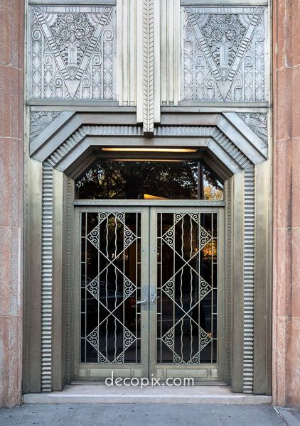 El Dorado Apartments Nyc Art Deco Entry That Also Looks Futuristic To Me Art Deco Pinterest