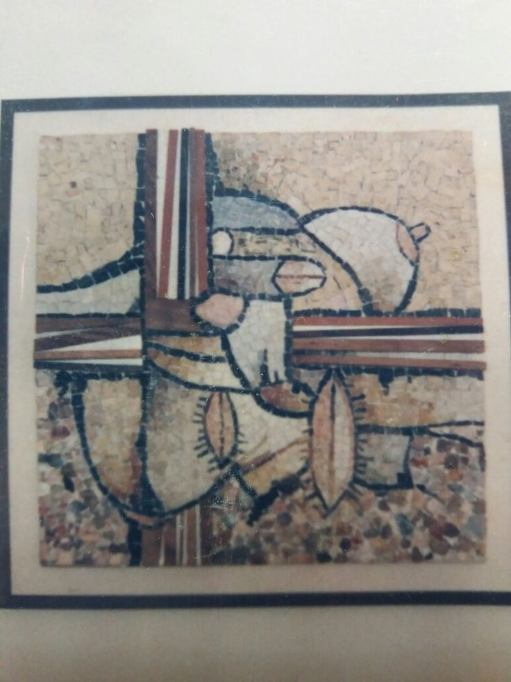 PENSIERO EROTICO n.2 (1984) #mosaic_menossi #mosaicodinamico