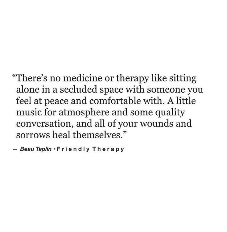 Friendly therapy. [Beau Taplin]