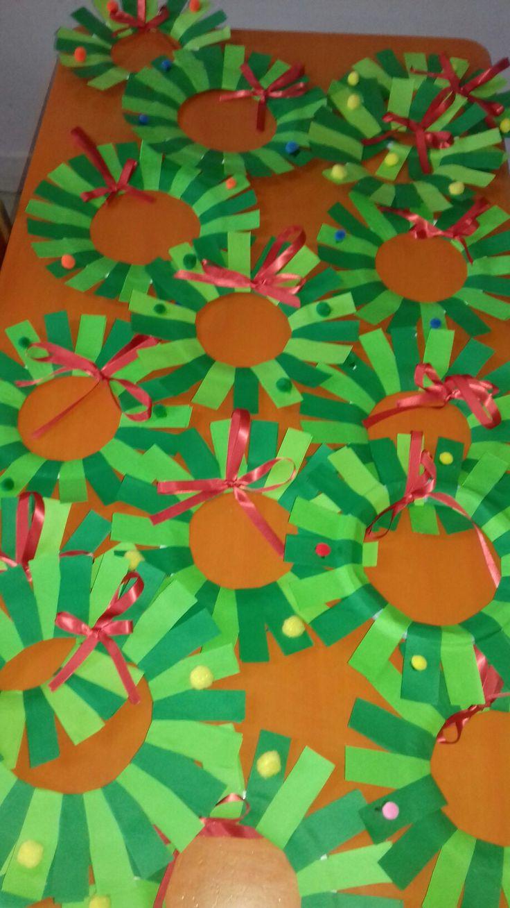 Χριστουγεννιατικα στεφανακια