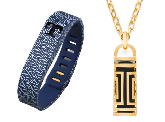 Look good while you sweat it out: Fitbit's Tory Burch jewelry makes your activity tracker slightly more fashionable