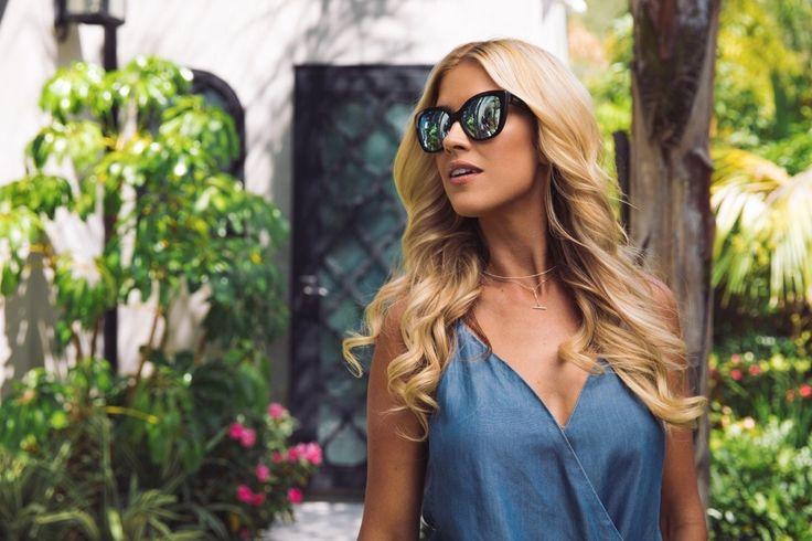 Christina El Moussa in @diffeyewear #sunglasses #shades #fashion #streetstyle #bloggers #models #topmodels #gafas #gafasdesol #lunettesdesoleil #occhialidasole