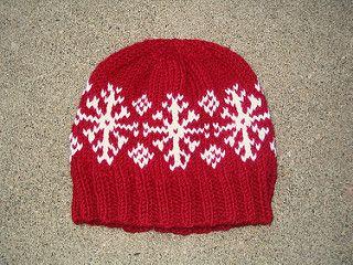 Rudensk pattern by janelleknits  Yep, looks like a snowflake