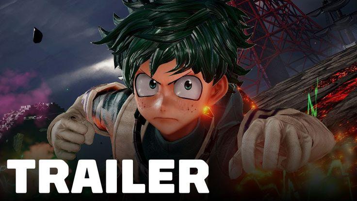 Jump Force – Deku and Asta Gameplay Trailer (My Hero Academia & Black Cl…