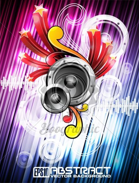 Abstract vector shiny background. - Royalty Free Vector Illustration