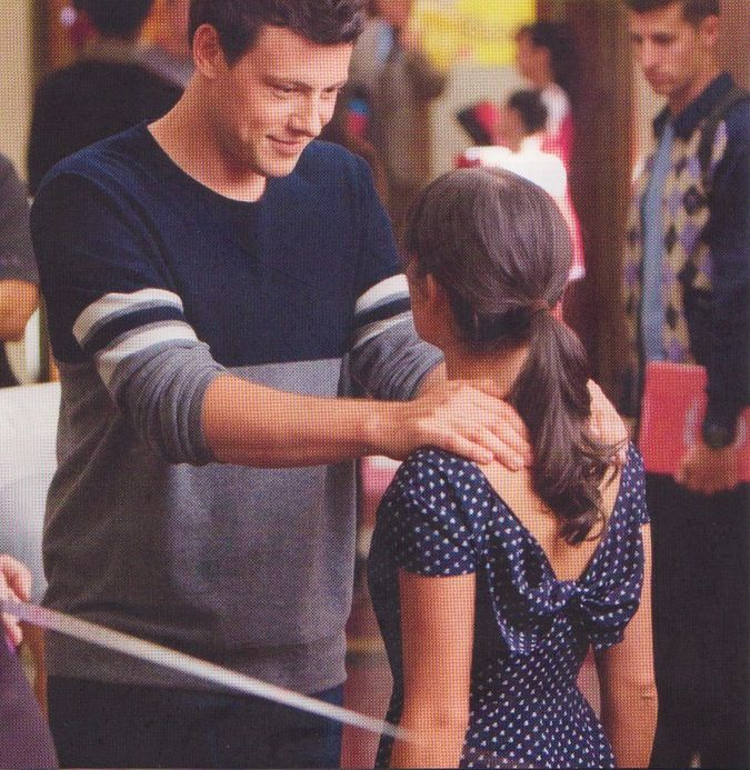 rare cory monteith and lea michele pics - Google Search
