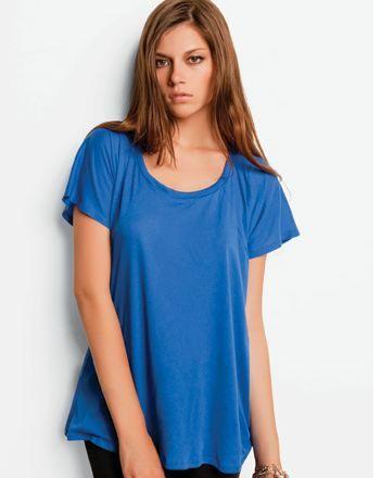 8801 Bella Ladies' 3.7 oz. Melody Flowy T-Shirt | Blank Shirt - Wholesale t shirt - American Apparel - Blank T Shirts - Organic T - Blank Te...