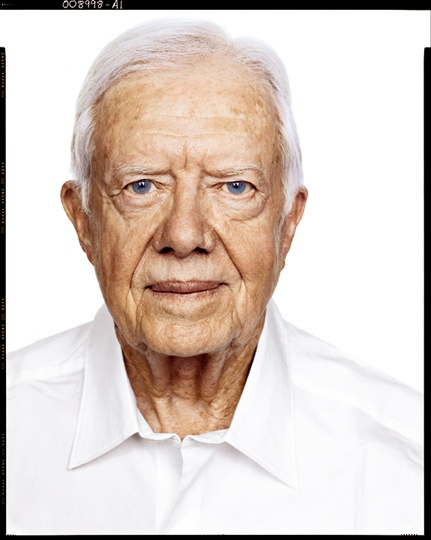 Jimmy Carter by Richard Avedon.