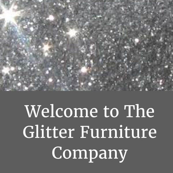 The Stunning Glitter Furniture Company Dining room chairs - silver velvet - silver glitter