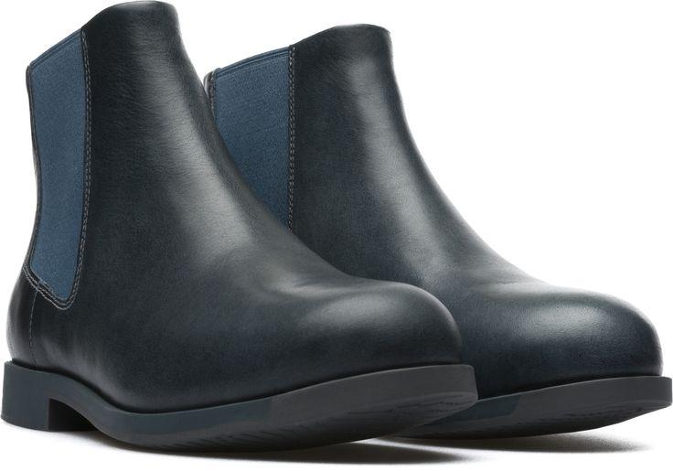 Camper Bowie Blue Ankle boots Women K400023-008